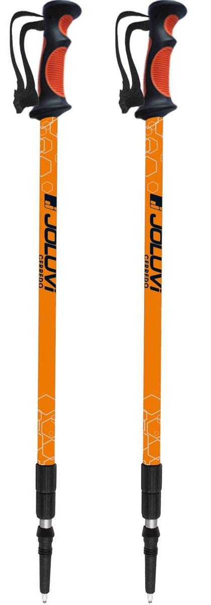 Телескопические палки для скандинавской ходьбы. Длина регулируется в зависимости от характера поверхности и уровня сложности.