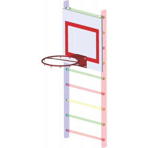 Щит баскетбольный инавесной фанера в Новосибирске