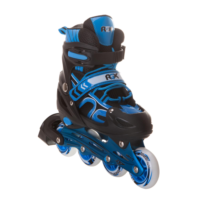Роликовые раздвижные коньки RGX Vector Blue