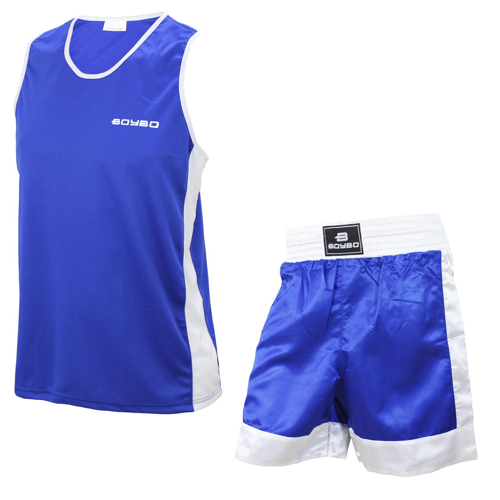 Боксерская форма синяя