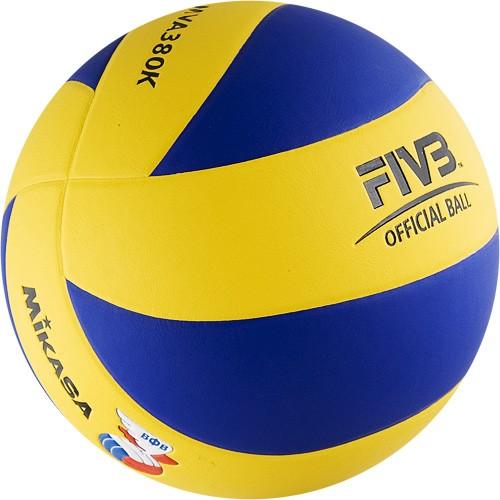 Мяч волейбольный Mikasa MVA380K в Новосибирске