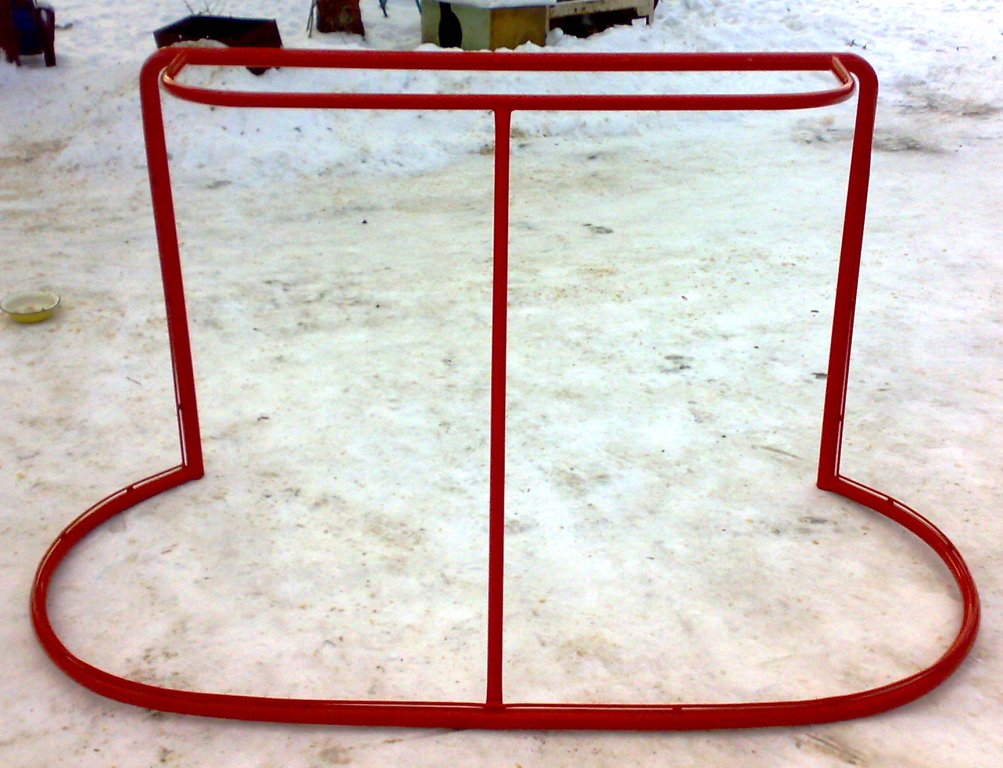 Ворота для хоккея своими руками