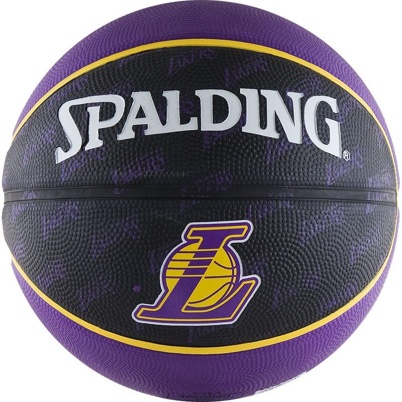 Мяч баскетбольный Spalding Los Angeles Lakers в Новосибирске