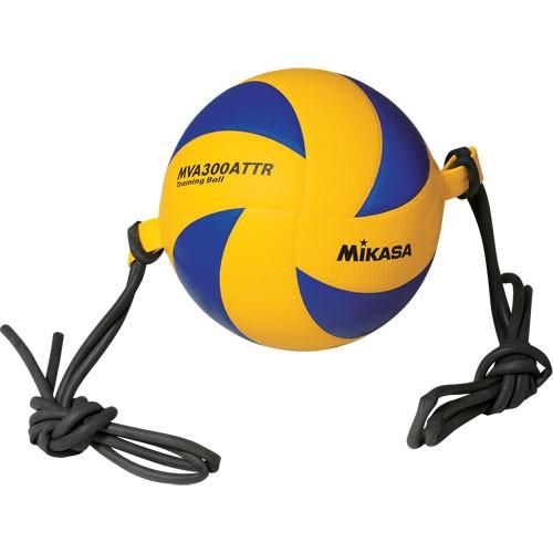Мяч волейбольный Mikasa MVA300ATTR на растяжках