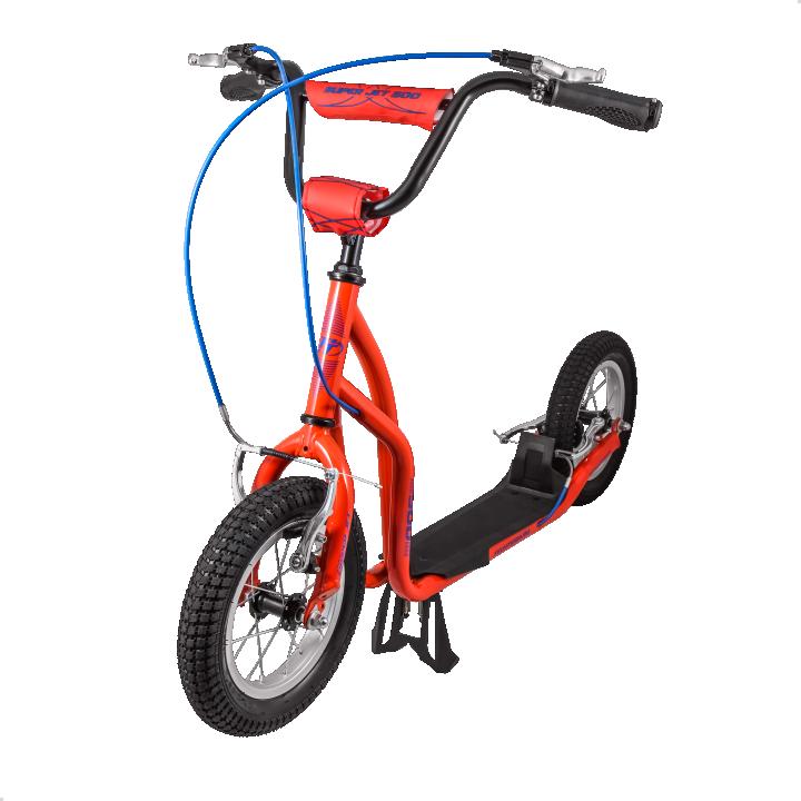 Самокат детский Tech Team Super Jet 500 с надувными колесами