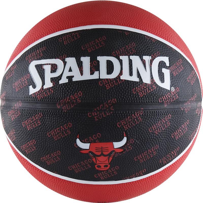 Мяч баскетбольный Spalding Chicago Bulls в Новосибирске