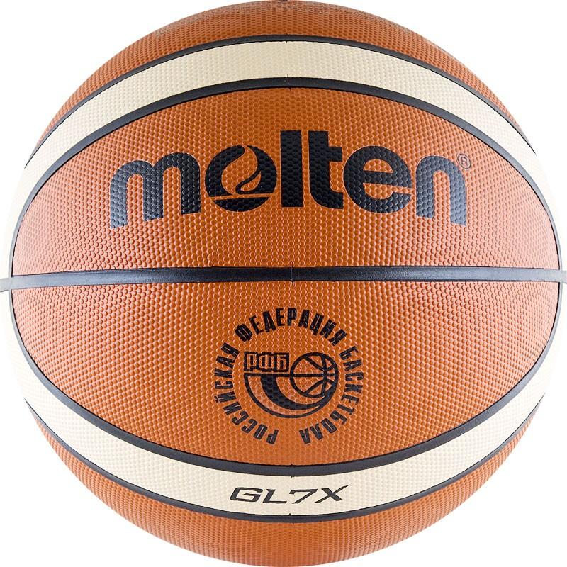 Мяч баскетбольный Molten BGLX-RFB в Новосибирске