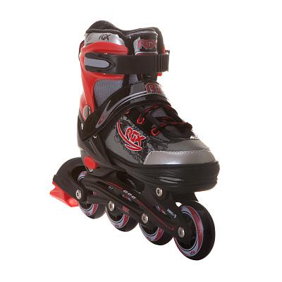 Роликовые раздвижные коньки RGX Braman Red