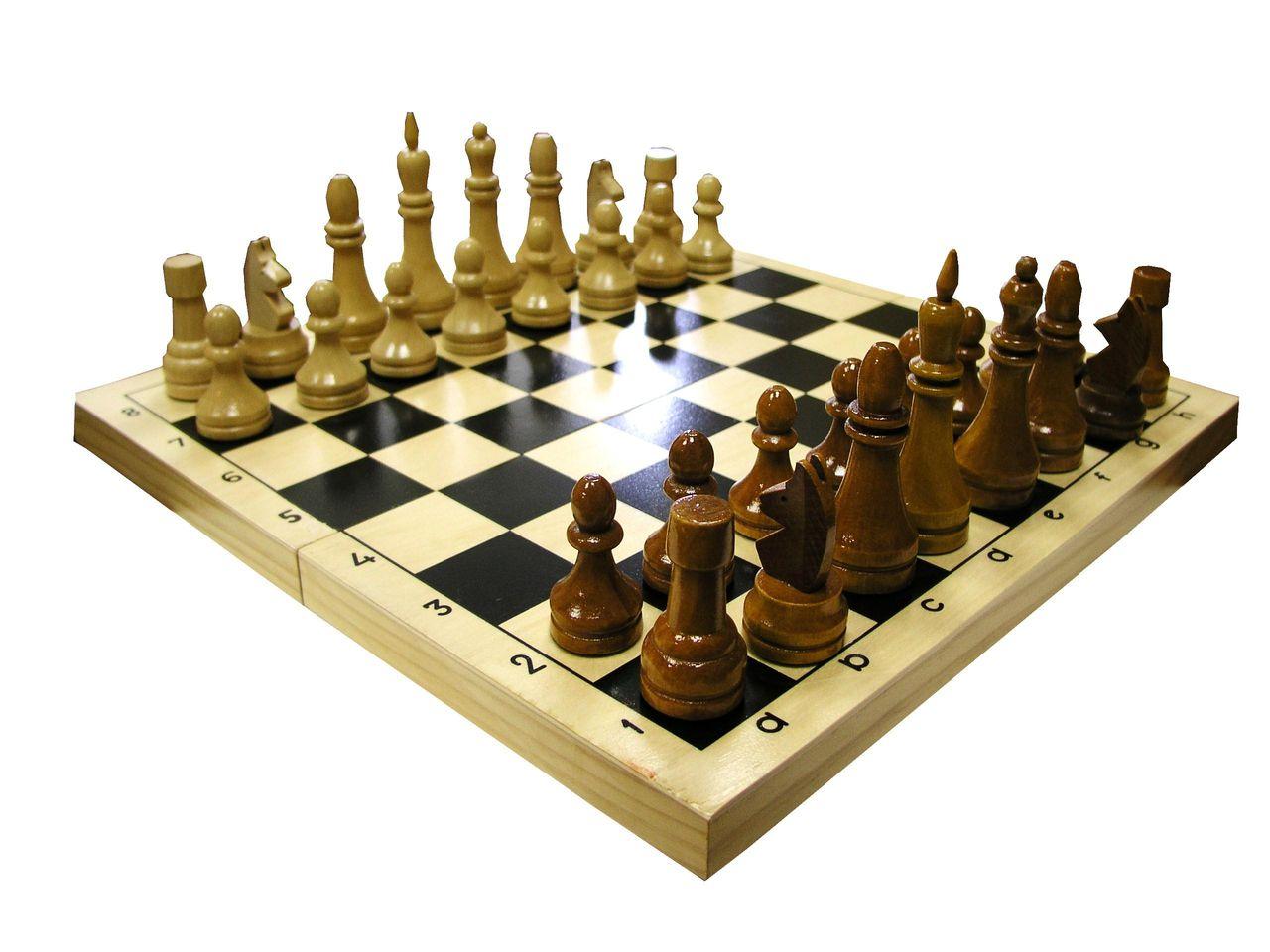 Шахматы турнирные  с доской 400*400*27 мм