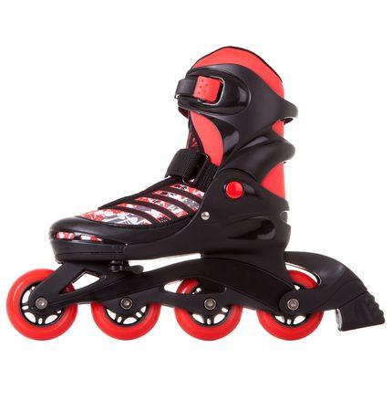 Роликовые раздвижные коньки RGX Race red