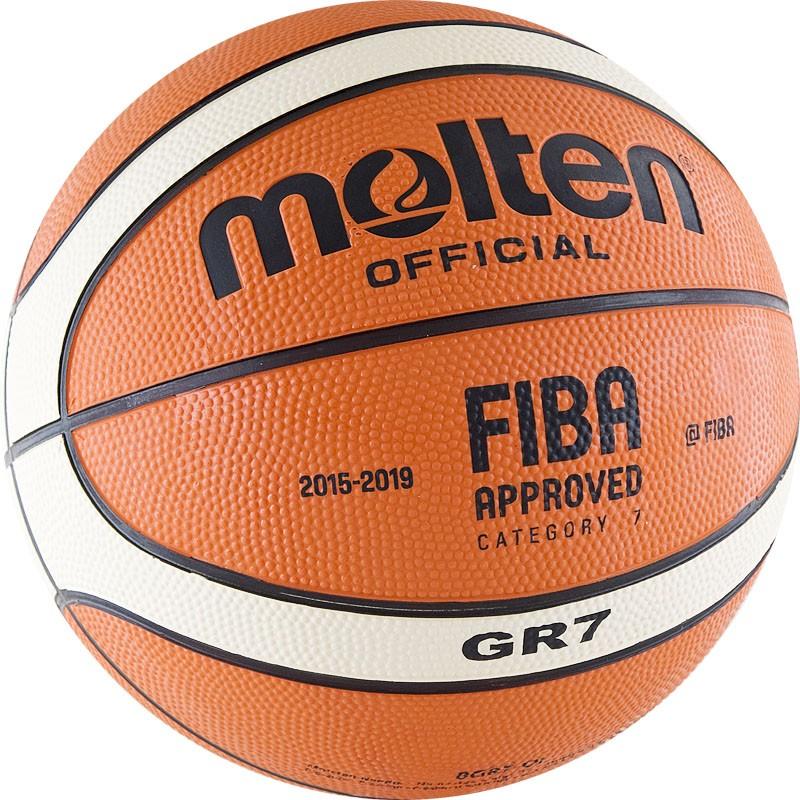 Мяч баскетбольный Molten BGR-OI в Новосибирске