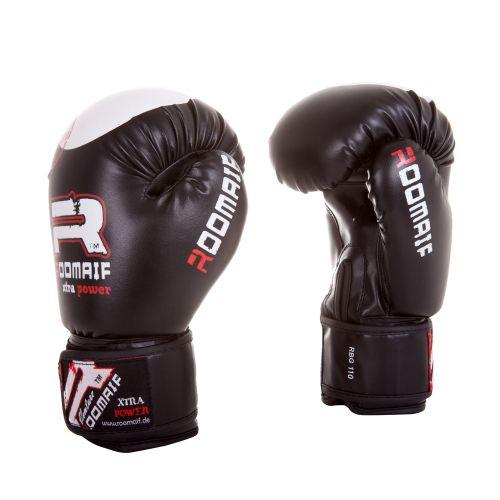 Перчатки боксерские RBG-110 Dx Black
