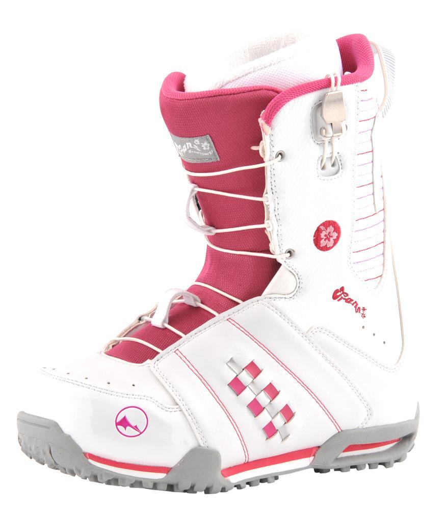 Ботинки сноубордические TRANS Girl Rider white