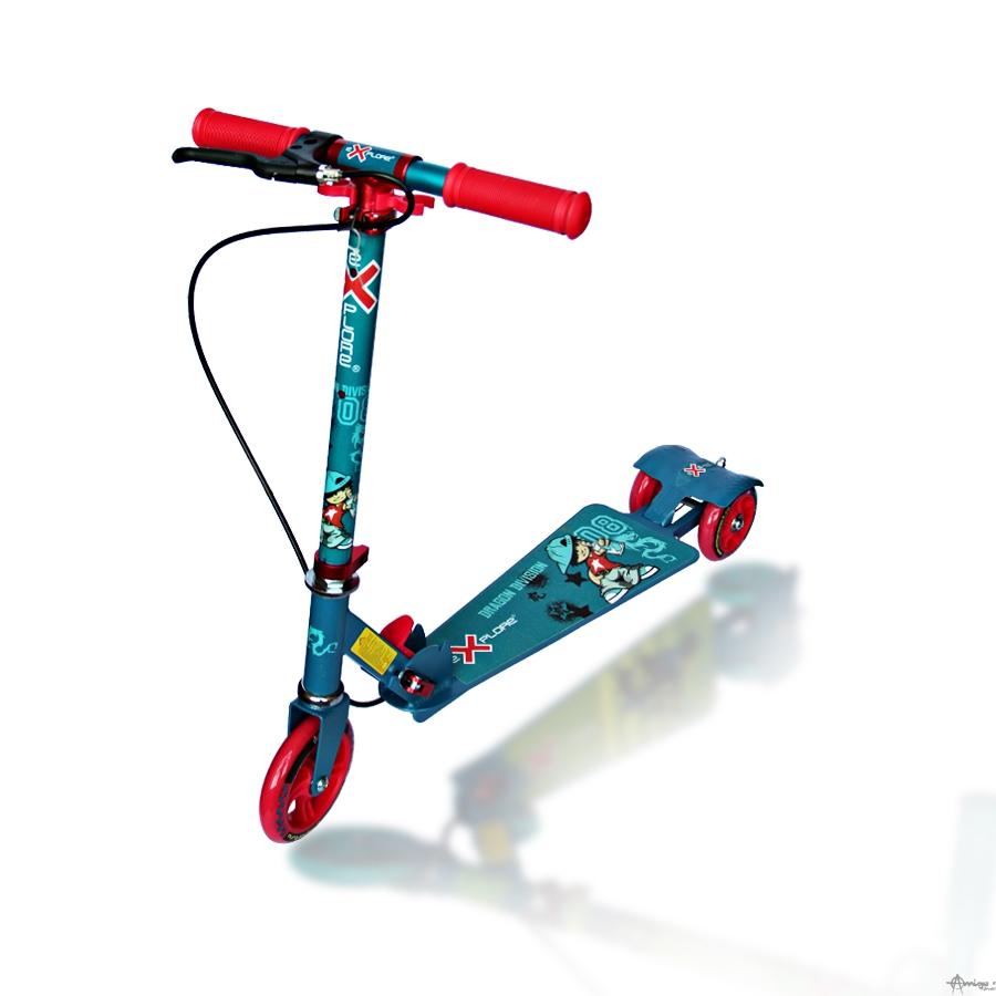 Самокат детский 3-х колесный AMIGO ROCKET