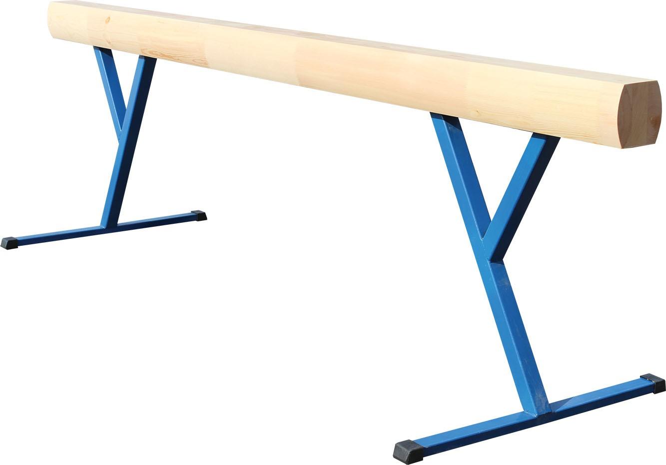 Бревно гимнастическое 5 м переменной высоты 700-1200 мм
