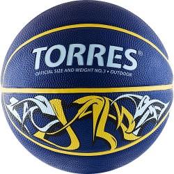 Мяч баскетбольный TORRES Jam 3 в Новосибирске