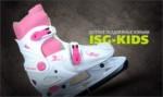 Коньки ледовые раздвижные Kids blue, pink