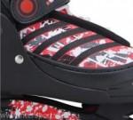 Роликовые коньки RGX Race red